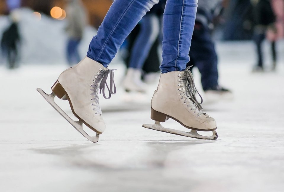 Skating during open skate